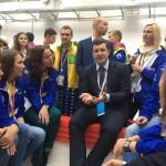 ВФМС фото Нижегородской делегации