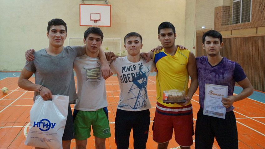Победители спартакиады по мини-футболу гр. 14ТО