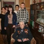 Студенты в гостях у Стукачева Николай Иванович