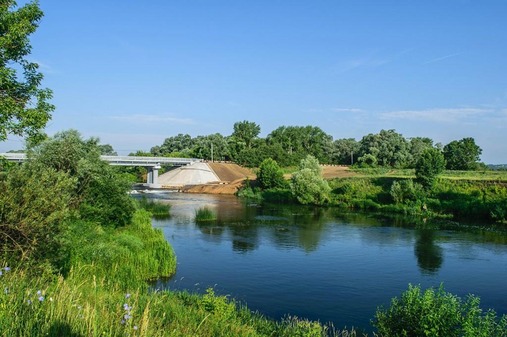 Мост через речку (ном. У нас природа удивительно красива, 2015)Перевозский СК. Миронова Е.К.