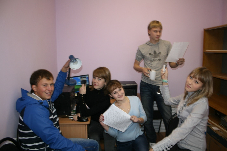 Сейчас они молодые специалисты, а в прошлом - творческая группа студенческого радио «Большая перемена»